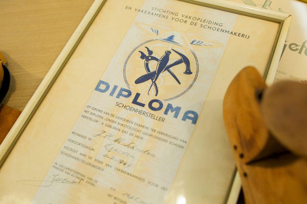 diploma schoenhersteller - geschiedenis Schouten Schoenen