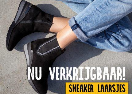 Trend! Sneakerlaarsjes!